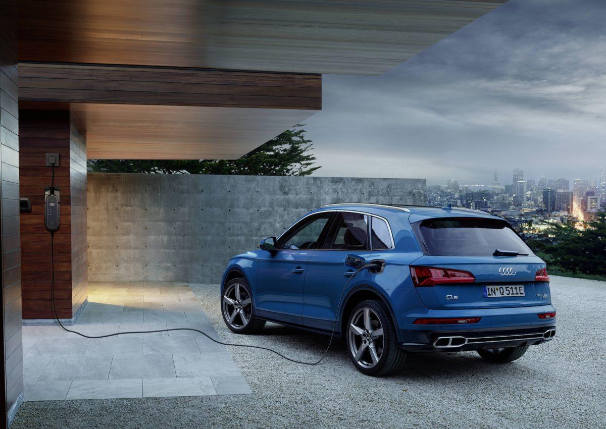 Auto ibride plug-in: Audi scende in campo con tutta la sua qualità